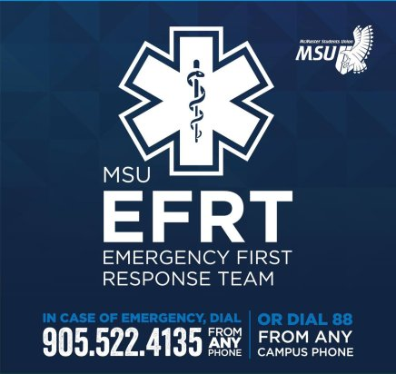 McMaster Emergency First Responder Team